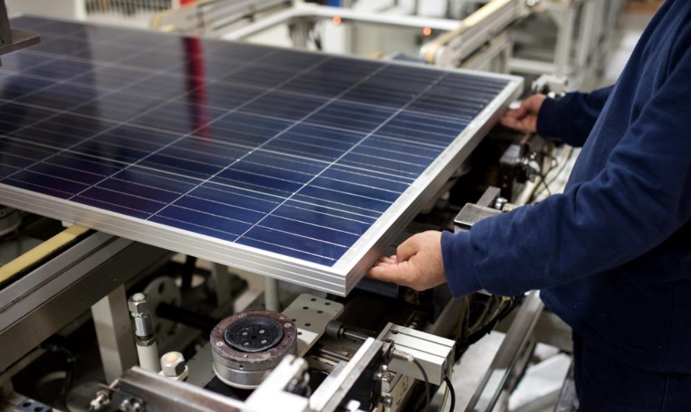 Виготовлення сонячних панелей