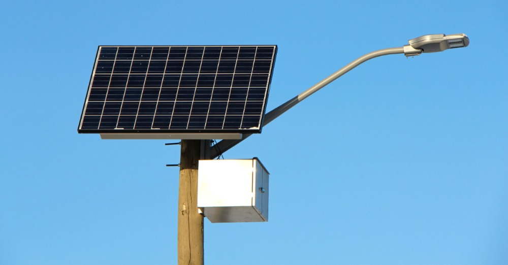 Вуличне освітлення від сонца допоможе заощадити